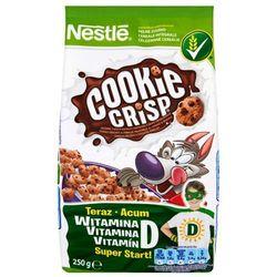 Płatki śniadaniowe Nestlé Cookie Crisp 250 g z kategorii Płatki, musli i otręby