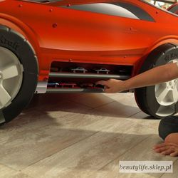 Kidkraft Drewniany stół samochód z torem wyścigowym speedway