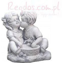 Figura ogrodowa betonowa para dzieci 31cm