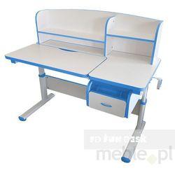 Fundesk Creare blue - regulowane biurko dziecięce