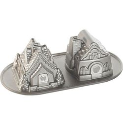 Forma do ciasta dwa domki z piernika Nordic Ware
