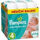 Pampers pieluchy active baby 4 maxi (8-14 kg) miesięczny zapas- 174 szt. (8001090172556)
