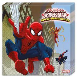 Procos Serwetki urodzinowe ultimate spiderman web warriors - 33 cm - 20 szt.