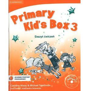 Język angielski Primary Kid`s Box 3 ćwiczenia Edukacja wczesnoszkolna, CAMBRIDGE UNIVERSITY PRESS