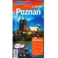 Plan miasta Poznań (1:20 000) - plastikowa oprawa