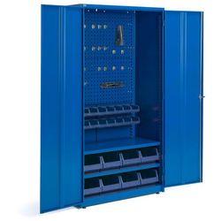 Szafa warsztatowa z wyposażeniem, 1900x1020x500 mm, niebieski marki Aj produkty