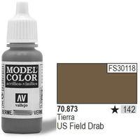 Vallejo Farba Nr142 US Field Drab 17ml z kategorii Farby modelarskie