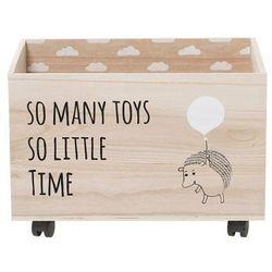 Bloomingville Skrzynia na zabawki z jeżykiem -