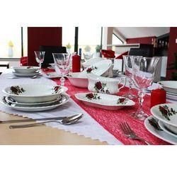 Chomik Serwis obiadowy 12/44 b826 iwona 5163