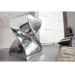 Sofa.pl Invicta stolik twist 45cm chrom - polerowane aluminium