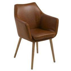 Fotel elpro 2x- brązowy marki Producent: elior