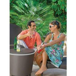 Barek ogrodowy curver cool bar mokka - jasnoszary marki Keter