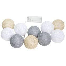 Świecące kule led, Kolorowy Cotton Balls
