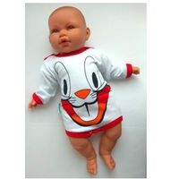 Body niemowlęce królik bugs długi rękaw rozm. 74 marki Free juniors