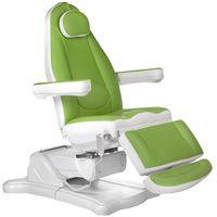 Beauty system Elektryczny fotel kosmetyczny mazaro br-6672 zielony