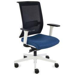 Fotel Level WS white (biała) K01 czarny