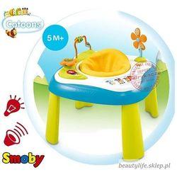 cotoons interaktywny stolik siedzonko niebieskie marki Smoby