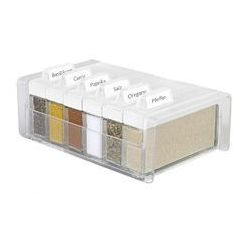 Pudełko na przyprawy + 6 pojemników Spice Box (białe) Emsa
