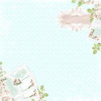 Ozdobny papier różane listy 30,5x30,5 cm - 01 - 01 marki Magiczna kartka