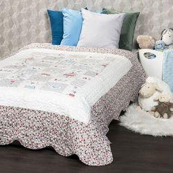 4Home Narzuta na łóżko dla dzieci Little Friends, 140 x 200 cm (8596175006531)