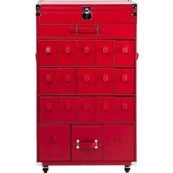 Kare design :: Szafka/Komoda na buty Trunk Red - produkt z kategorii- szafki na buty