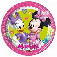 Talerzyki papierowe Minnie Happy Helpers 20 cm, 8 sztuk