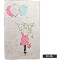 Selsey dywan do pokoju dziecięcego dinkley dziewczynka 100x160 cm (5903025554808)