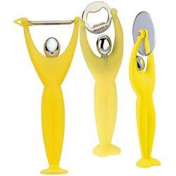 - gym zestaw 3 przyborów - żółty - żółty marki Casa bugatti