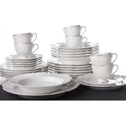 katarina - zastawa stołowa obiadowo-kawowa 30 części na 6 osób marki Oxford