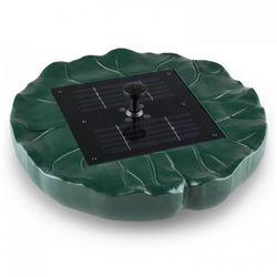 Waldbeck Sunfountain fontanna solarna lilia wodna 4 rodzaje tryskania wody pilot LED (4260486159104)