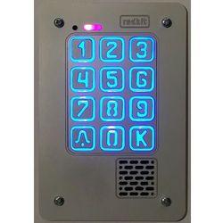 Panel cyfrowy domofonu jednorodzinnego z szyfratorem RADBIT KEC-1P GD36 PT MINI, BD-1P-GD36