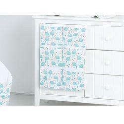 przybornik organizer na łóżeczko jeżyki turkus marki Mamo-tato