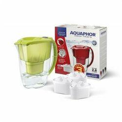 Dzbanek filtrujący AQUAPHOR Amethyst Limonkowy + 3 wkłady B25 Maxfor