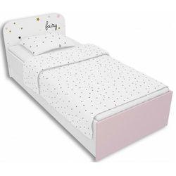 Producent: elior Biało-lawendowe łóżko dziecięce 90x200 peny 9x- 4 kolory