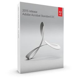 acrobat standard dc v2015, win, eu english, upgrade, 1 user, marki Adobe