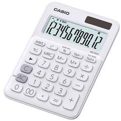 Kalkulator CASIO MS-20UC-WE-S Biały (4549526700071)