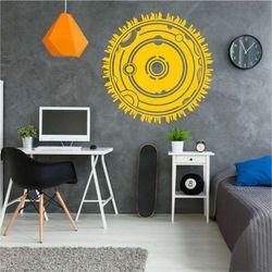 szablon na ścianę panorama abstrakcyjna 2291