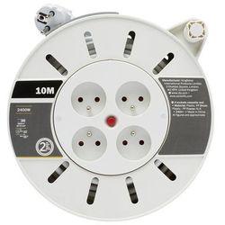 Przedłużacz bębnowy Diall 4 x 10 A 3 x 1 mm 10 m