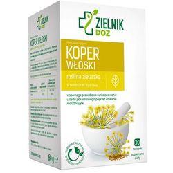 ZIELNIK DOZ Koper włoski, zioła do zaparzania, 2 g, 30 saszetek