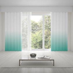 Zasłona okienna na wymiar - TURQUOISE - KOLOR 150 CM