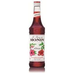 Syrop smakowy  hibiscus, hibiskus 0,7 l wyprodukowany przez Monin