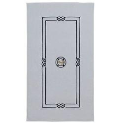 Dywanik łazienkowy marine man 50x90 cm biały marki Soft cotton