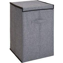 Składana torba na pranie, kosz na ubrania - kolor szary (8719202539943)