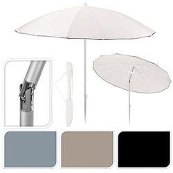 Parasol przeciwsłoneczny Shanghai 240cm biały - biały - szczegóły w GardenWorld