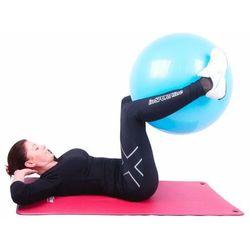 Piłka fitness Top Ball z pompką 55cm Insportline - czerwony