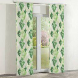 Dekoria zasłony panelowe 2 szt., zielono-szary, 60 × 260 cm, aquarelle