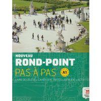 Noveau Rond-Point Pas A Pas A1 Livre De L'eleve + Cahier D'activites Z Płytą Cd (opr. miękka)