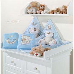 kocyk polarowy śpioch w hamaku w błękicie marki Mamo-tato
