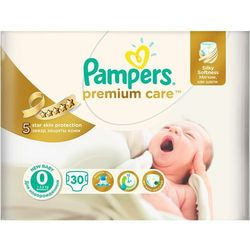 Pampers Premium Care 0 Newborn (do 2,5kg) - 30 szt. - produkt z kategorii- Pieluchy jednorazowe