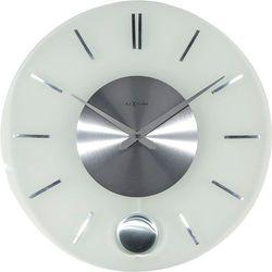 Zegar ścienny z wahadłem Stripe Nextime 40 cm